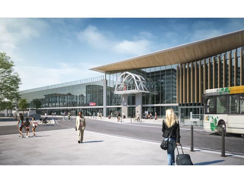 La gare de Chambéry transformée dans les temps grâce au BIM et au « smart building »