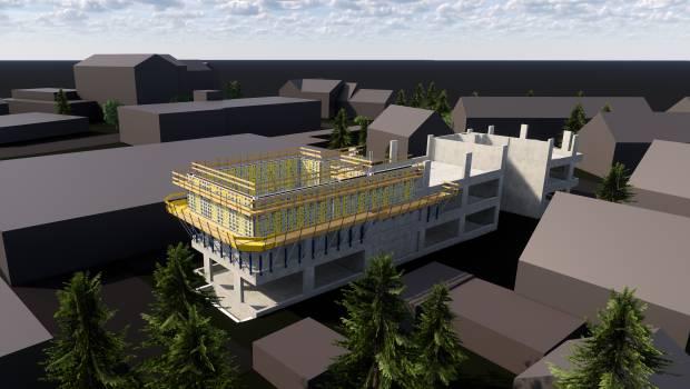 Doka construit les bureaux Sofistik en Allemagne en mode BIM